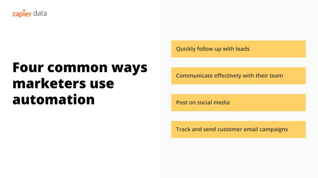 four common ways marketers use automation
