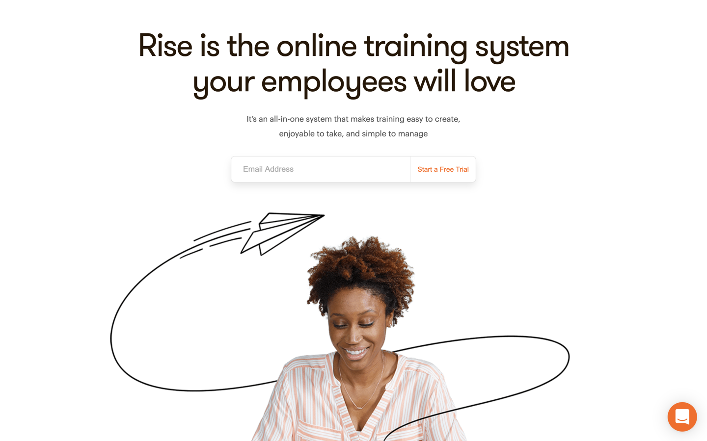 Rise home page