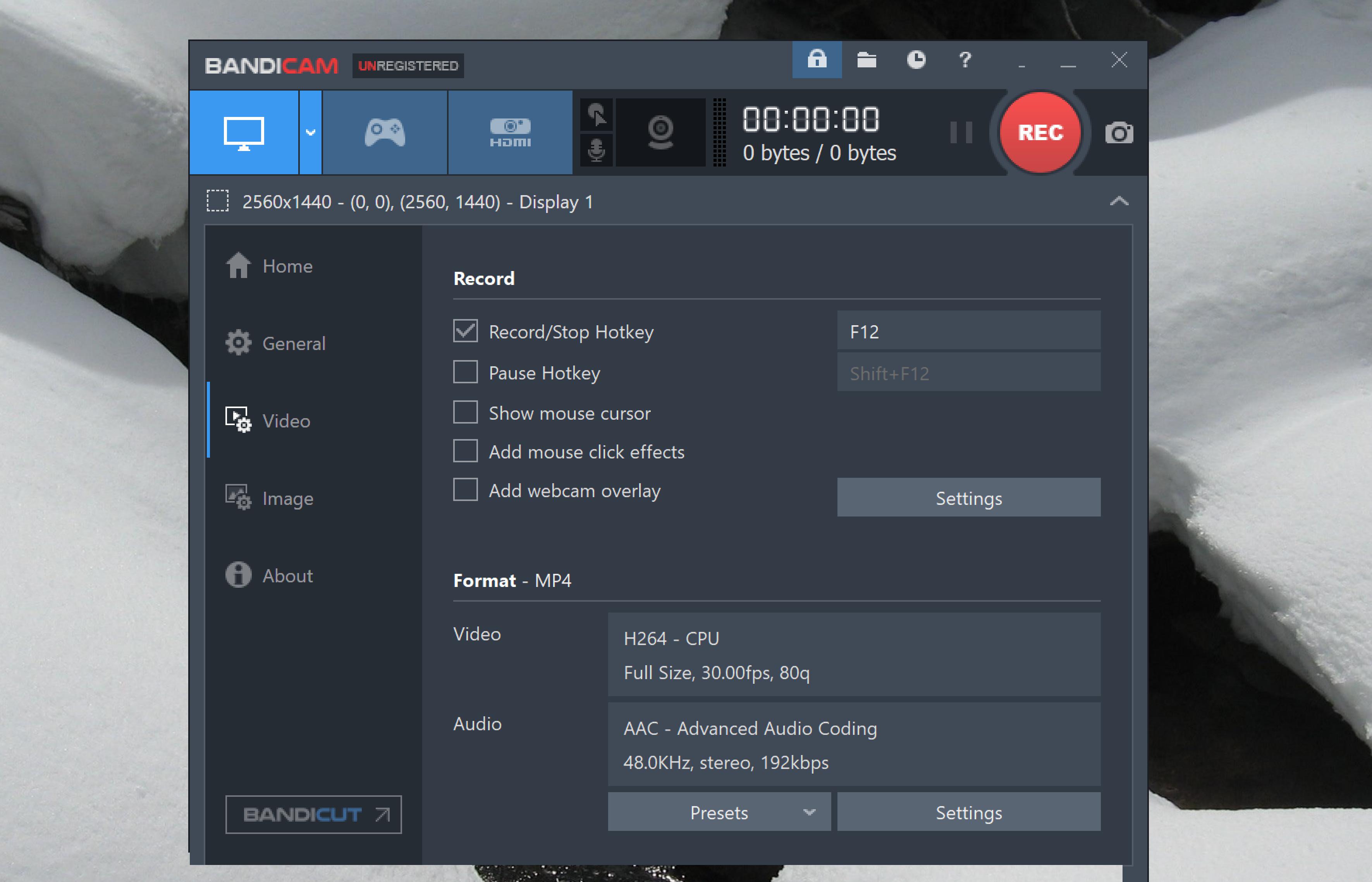 bandicam screenshot