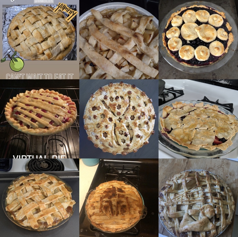 Picture of 9 pies