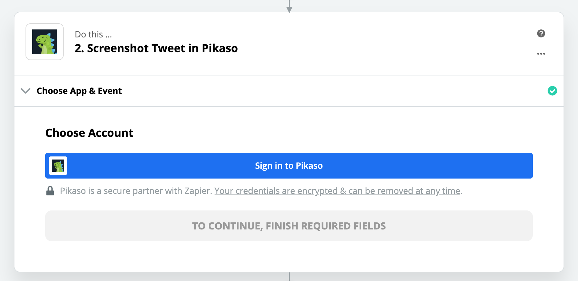 Click to connect Pikaso