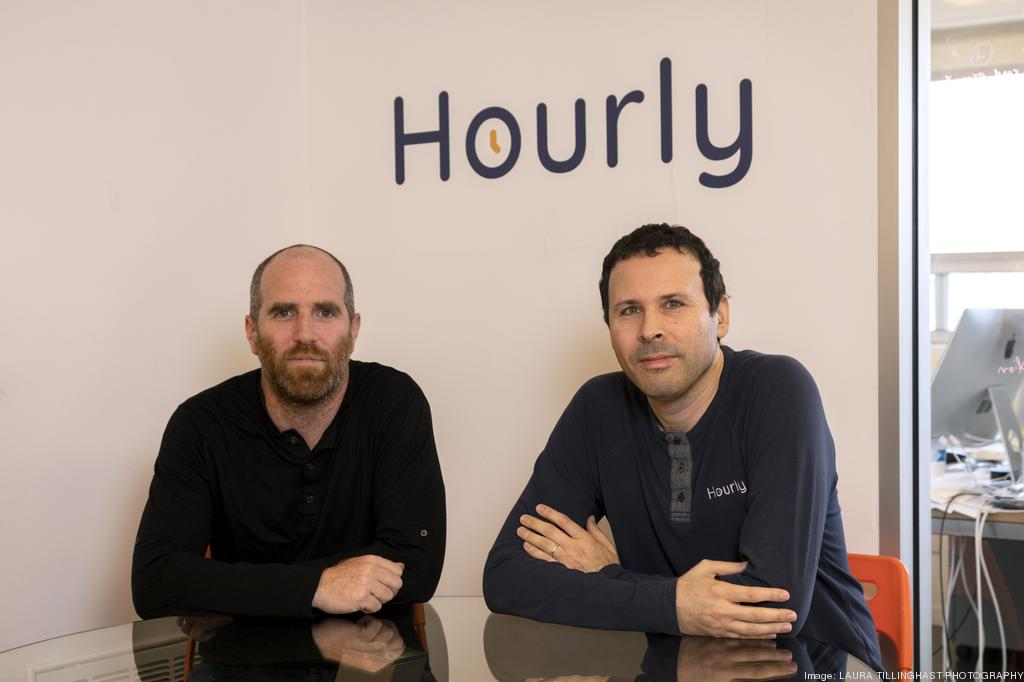 Hourly co-founders, Tom Sagi and Shay Litvak