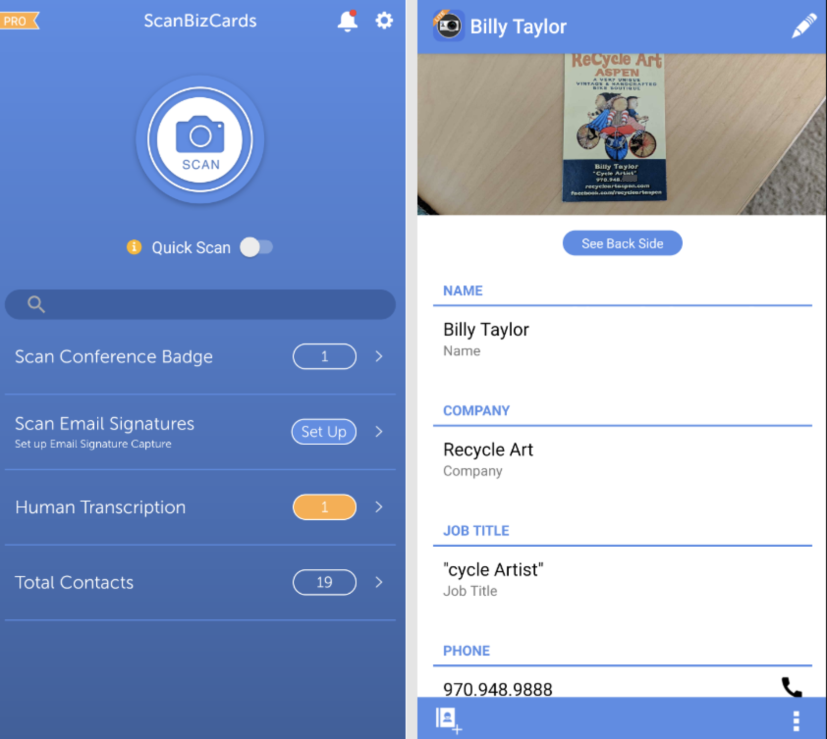 the 8 best business card scanner apps of 2021  zapier