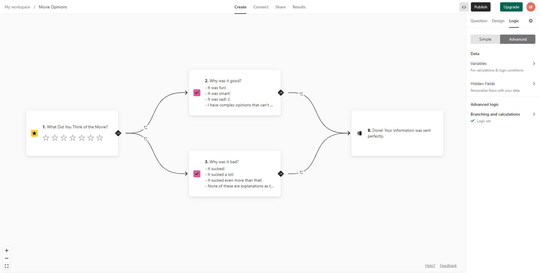 Typeform lets you create visually engaging surveys.
