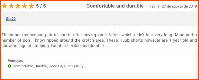 opinión del pantalón de neopreno HUUB Sphere