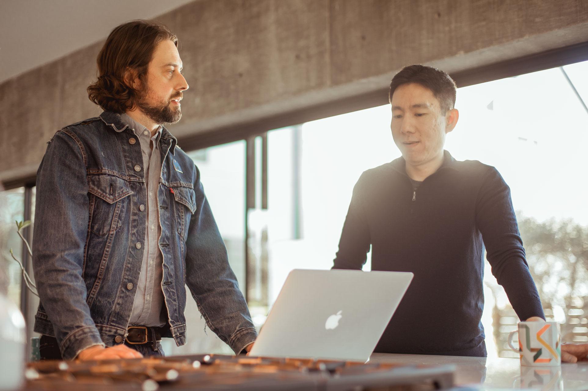 Michael Sanders and Ka Wai Cheung
