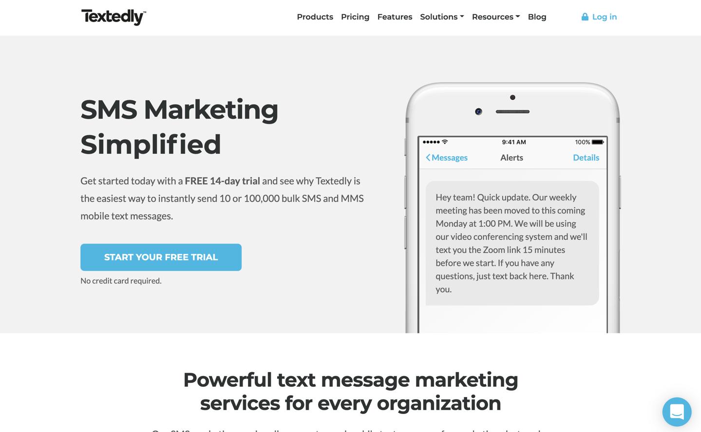 New integration: Send bulk text messages with Textedly - Updates   Zapier