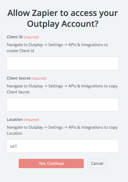 Outplay API Key