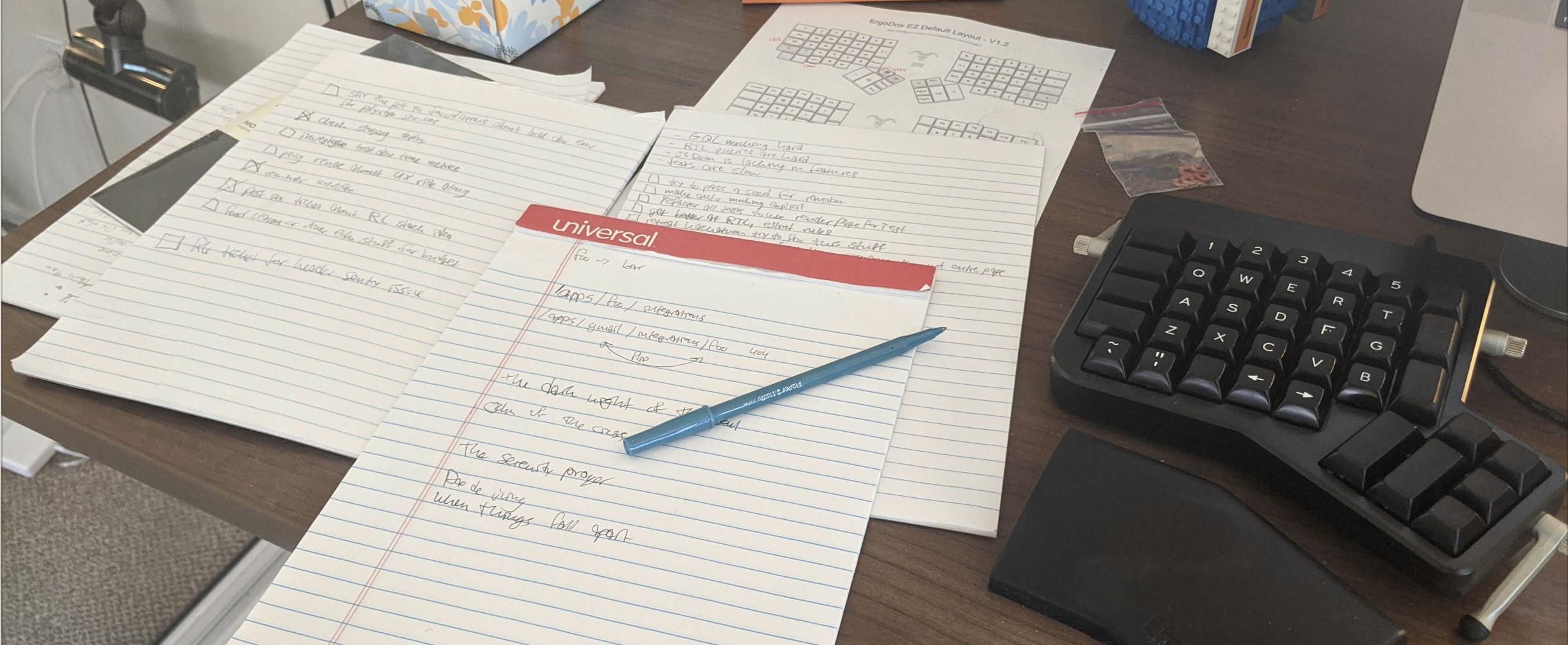 Chris' paper notes