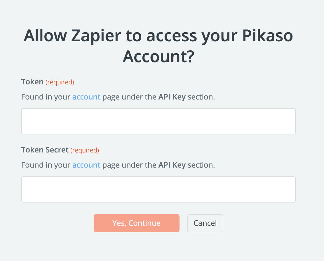 Pikaso API Key
