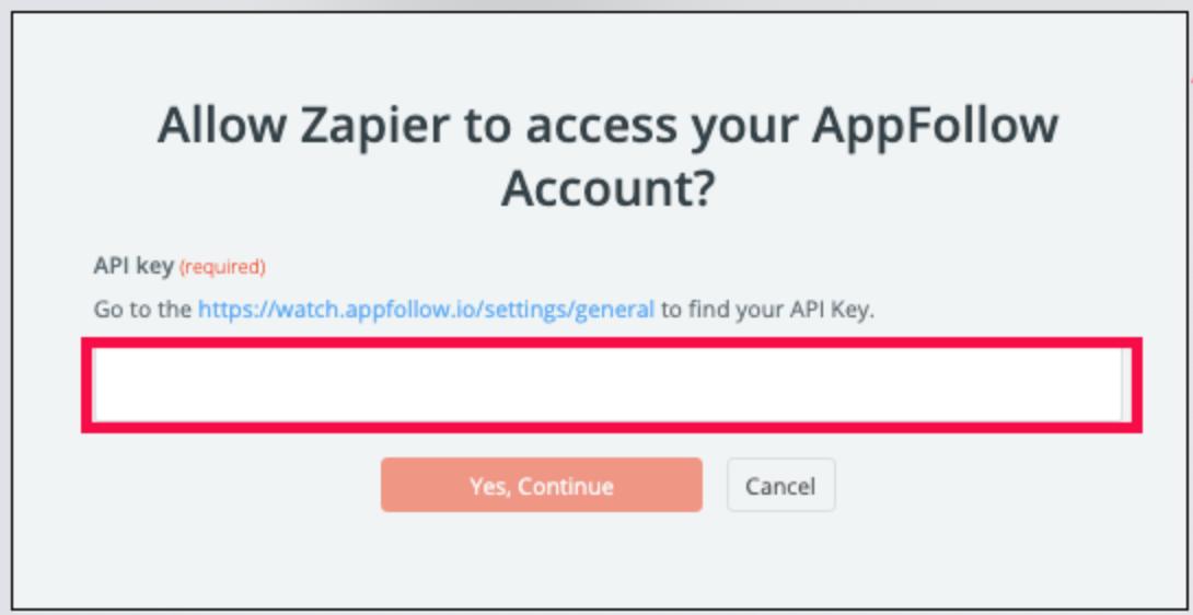 AppFollow API Key