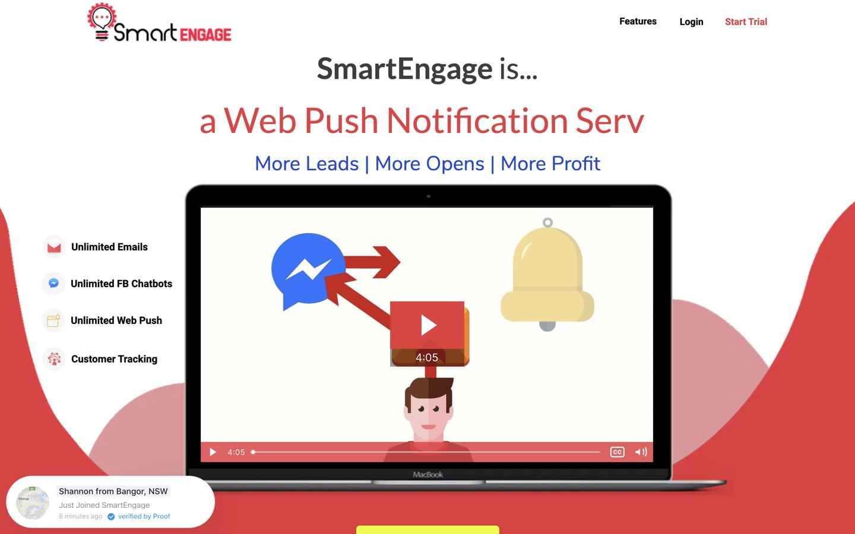 SmartEngage home page