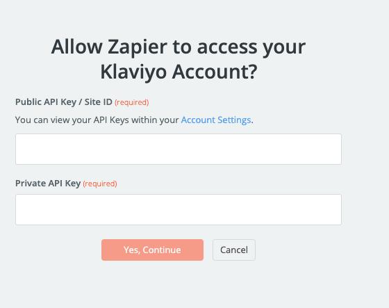 Klaviyo API Key